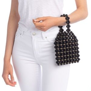 NEW Urban Expressions Blair Beaded Handbag